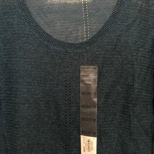 Simply Vera Vera Wang Sweaters - Vera Wang Light Dark Teal Sweater size Medium NWT